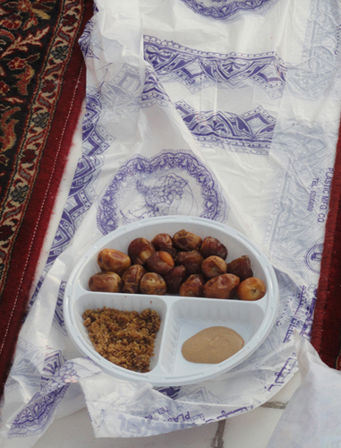 Ифтар в Масджид аль-Харам
